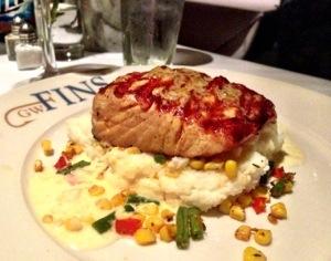 Jalapeño Glazed Scottish Salmon