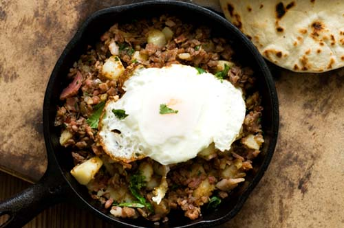 Corned Beef Chipolte Hash